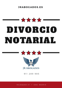 Divorcio notarial madrid