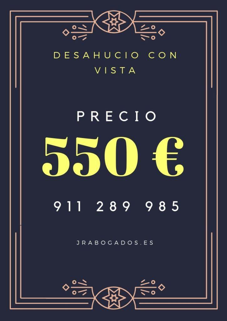550€.precio.desahucio-madrid