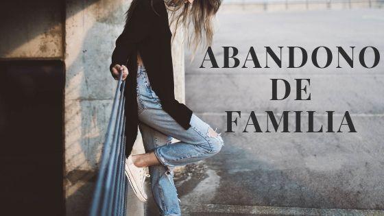 abandono de familia madrid