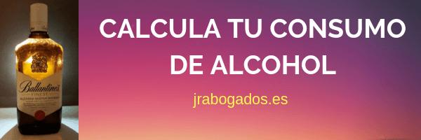 calcula consumo alcohol