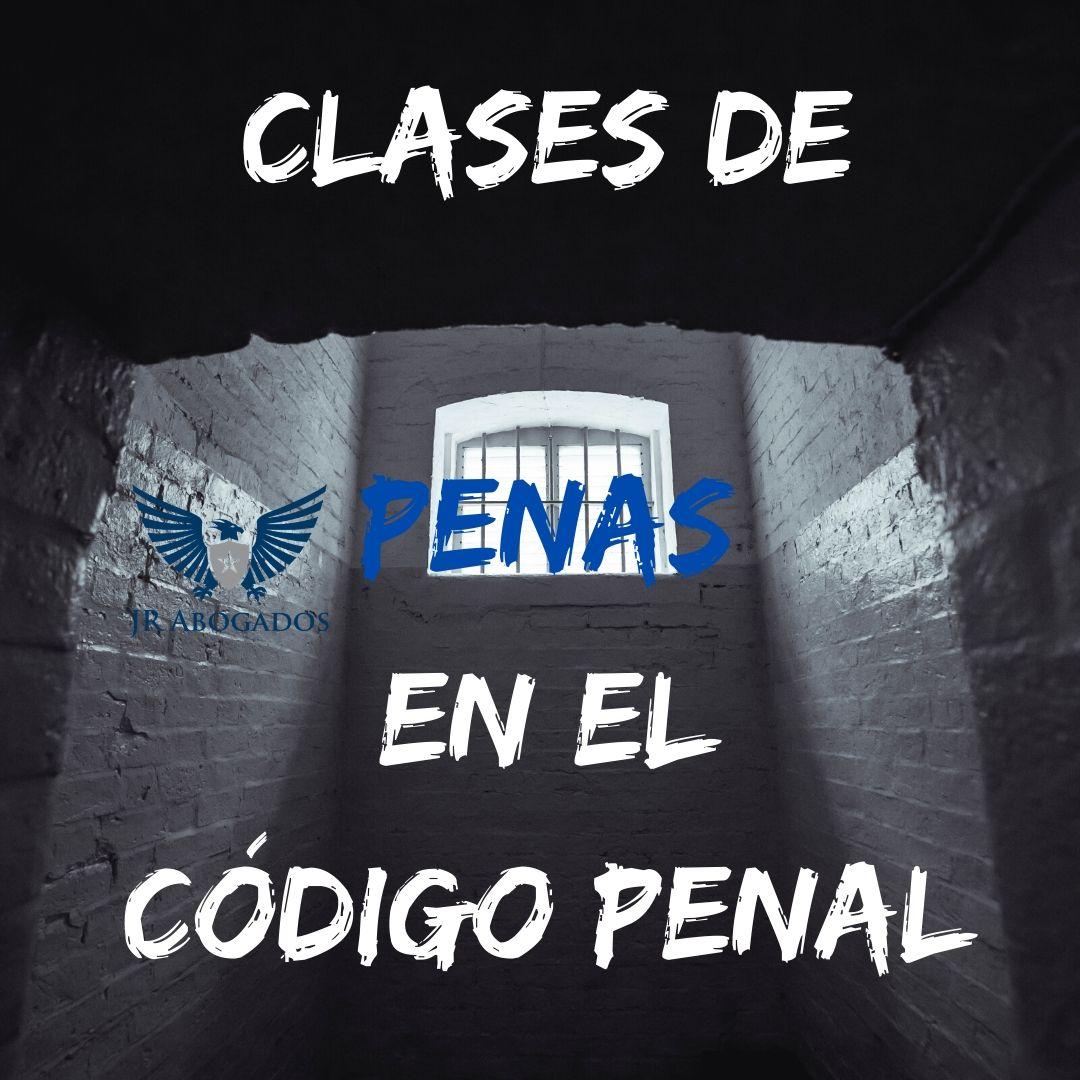 clases-de-penas-codigo-penal-español