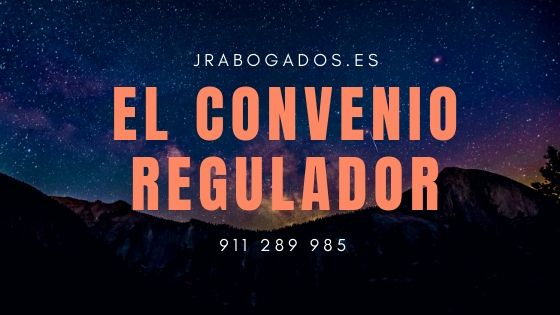 convenio regulador divorcio madrid