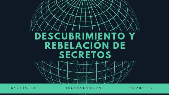 descubrimiento y rebelacion de secretos madrid