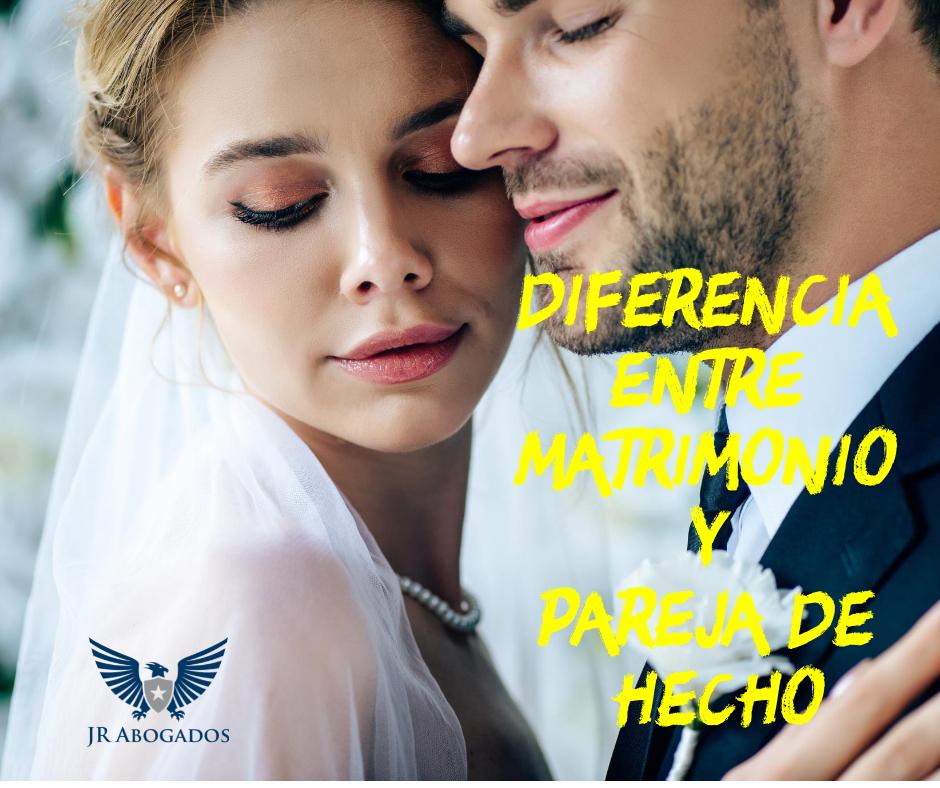 diferencia.matrimonio.pareja.hecho