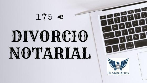 precio divorcio notarial