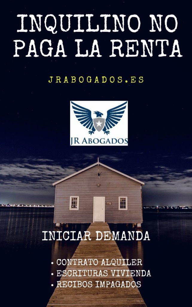 inquilino.no.paga.renta.Alcalá de Henares