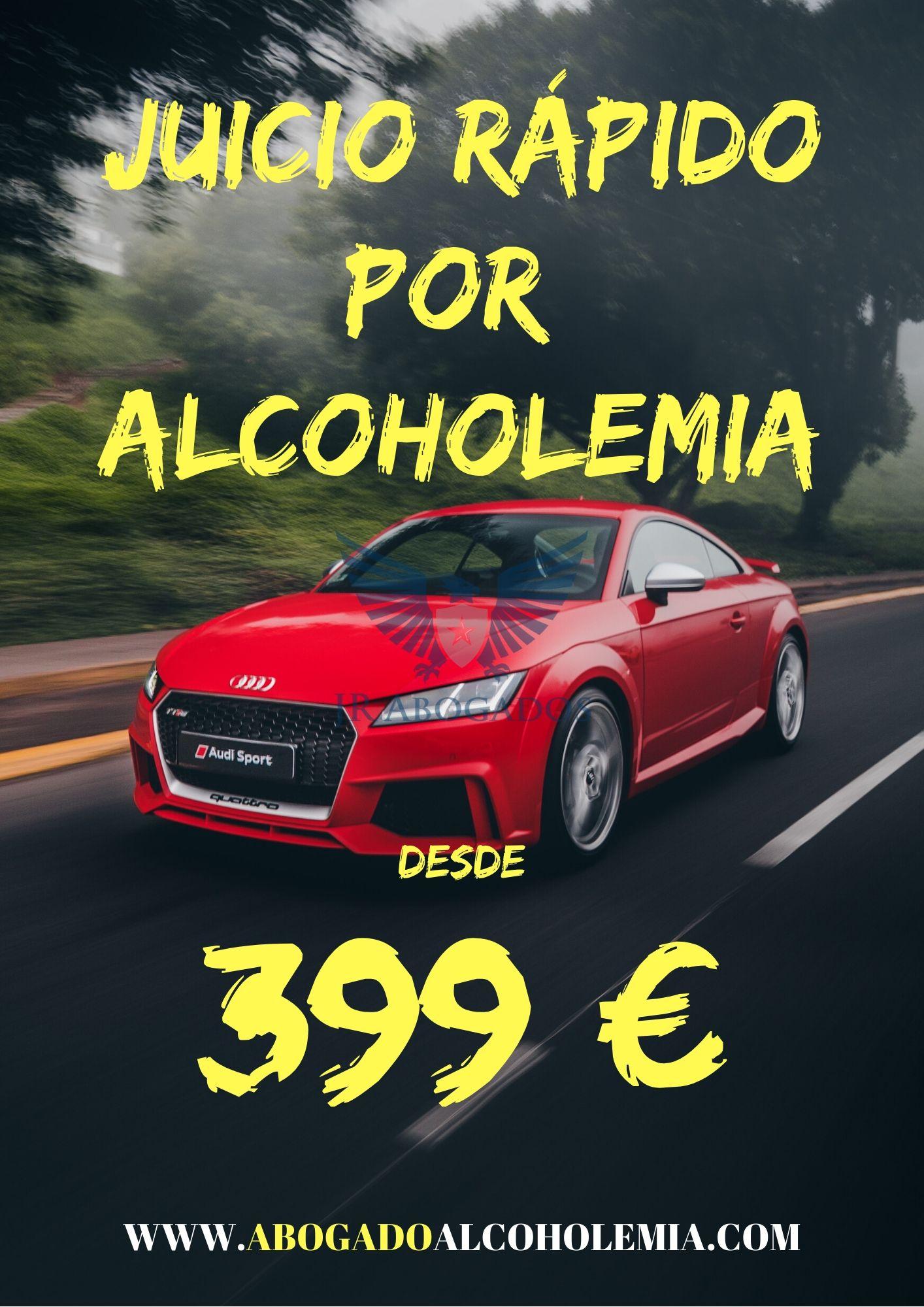 juicio rapido por alcoholemia