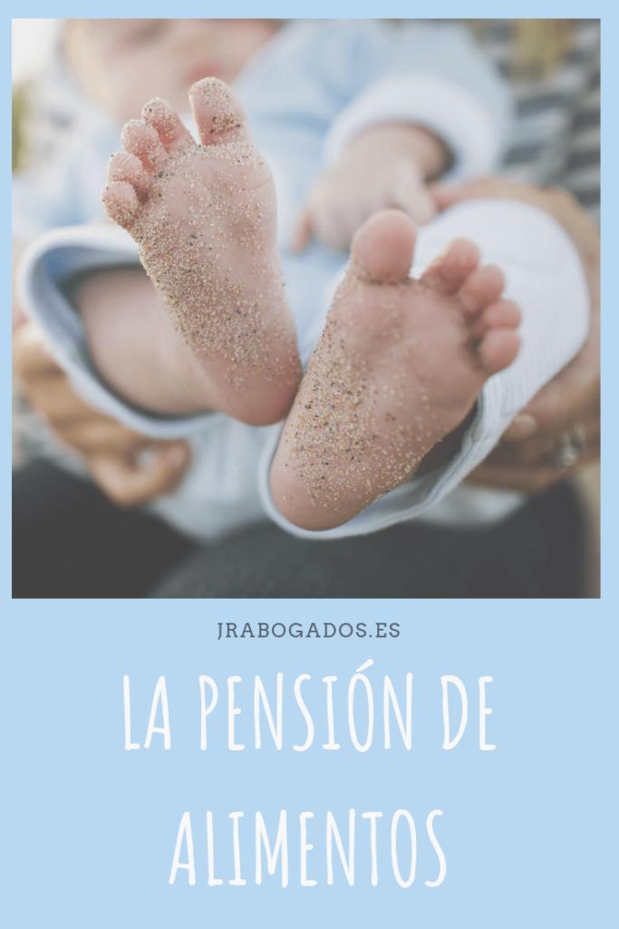 la pensión de alimentos